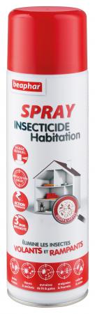 spray insecticide habitation