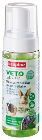 Mousse répulsive VETOpure antiparasitaire, rongeurs et petits mammifères
