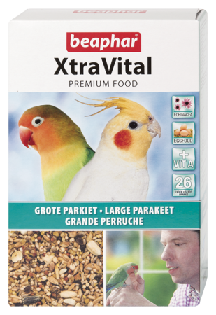 Beapher XtraVital pour grande perruche