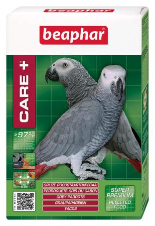 Beaphar CARE+, perroquets gris du Gabon - 1 kg