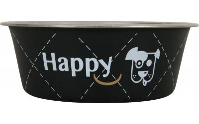 Zolux-Ecuelle Inox Happy - Noir