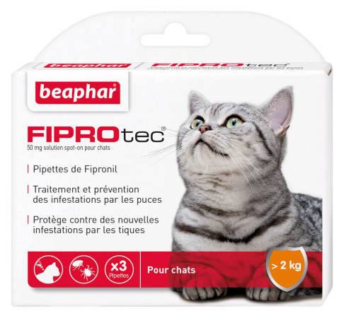 Beapher - FIPROtec - Pipettes antiparasitaires