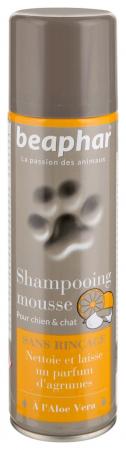 beaphar shampooing mousse sans rincage noszanimos