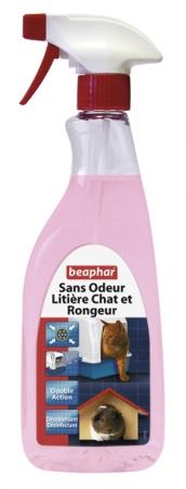 Beaphar sans odeur litiere chat et rongeur noszanimos
