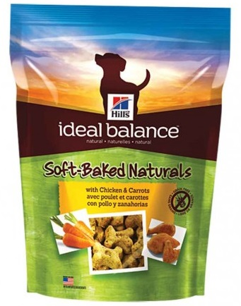 Hill's Ideal Balance treats friandise chien sans Céréales au Poulet et carottes noszanimos