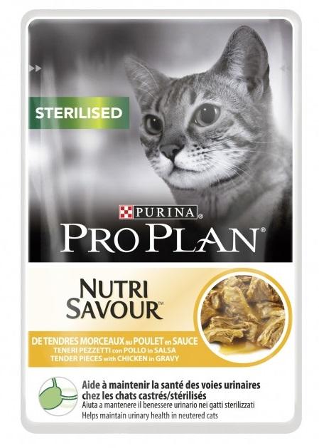 Purina Proplan - Nutrisavour Stérilised - Poulet - 10 sachets de 85gr