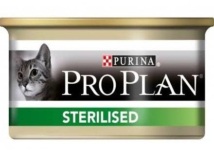 Purina Proplan Stérélised - Saumon et Thon - Lot 24 x 85gr 2 noszanimos