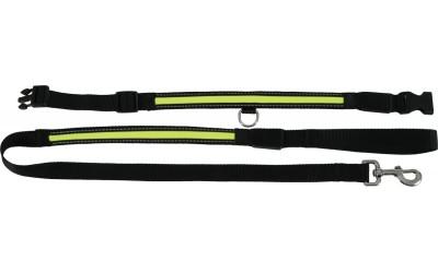 ZOLUX laisse-rechargeable-nylon-led 3 noszanimos