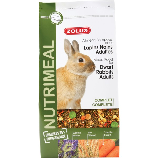 Zolux-Alimentation Nutri\'Meal pour Lapin