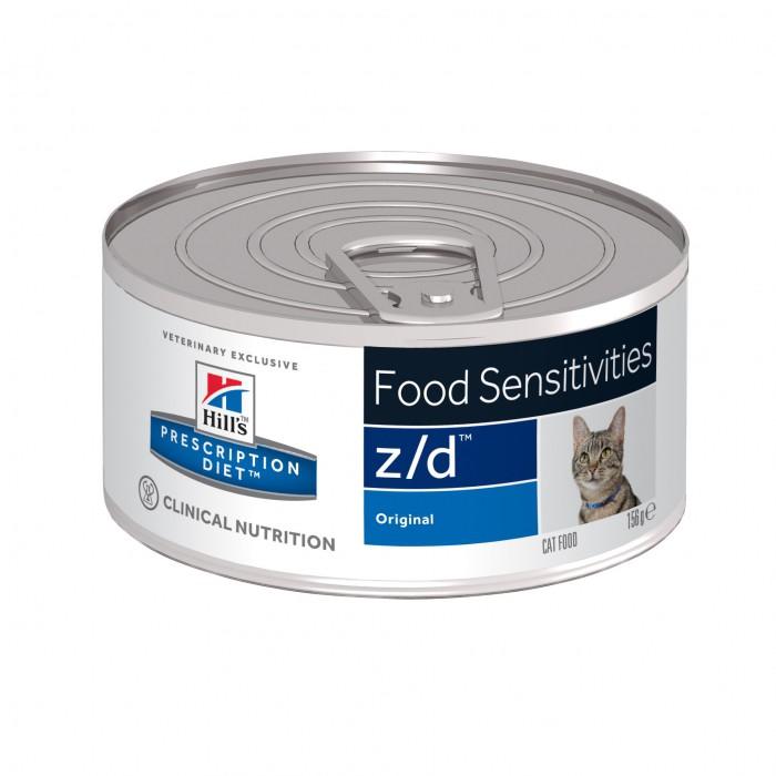 HILL'S Prescription Diet Feline z d 24 boites 156gr noszanimos