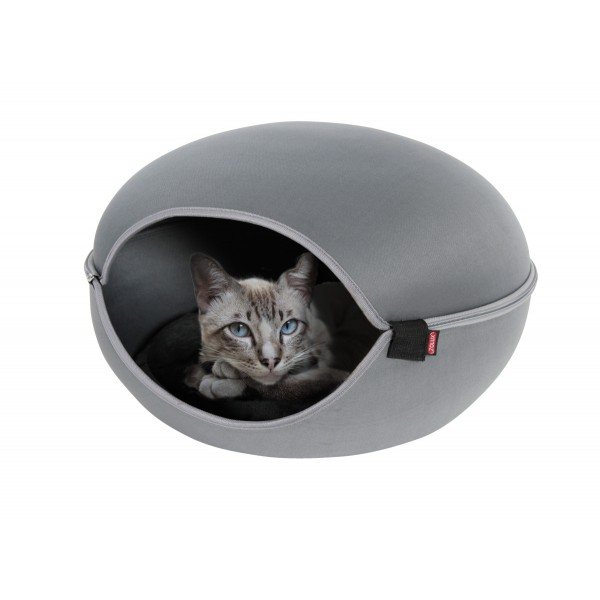 zolux dome-chat-louna-gris noszanimos
