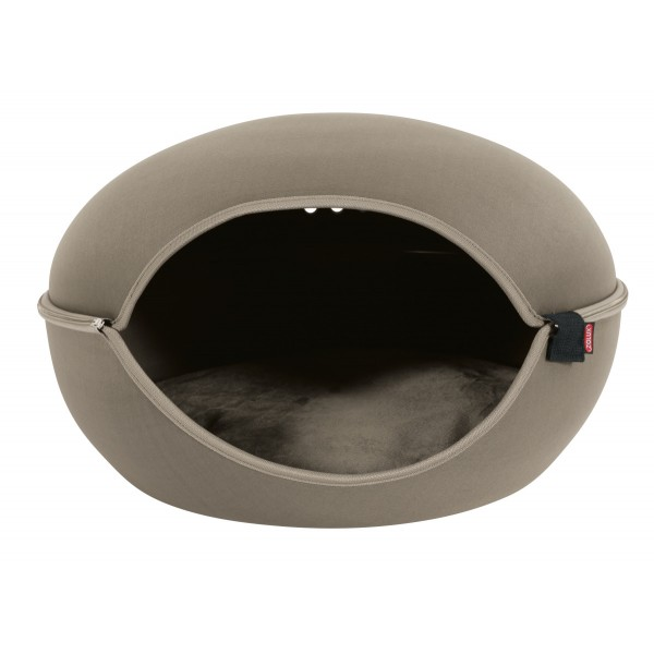 Zolux-Dome pour Chat Louna - Taupe