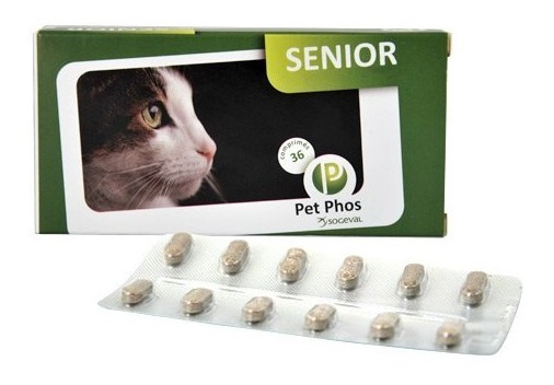 CEVA pet-phos-felin-senior noszanimos