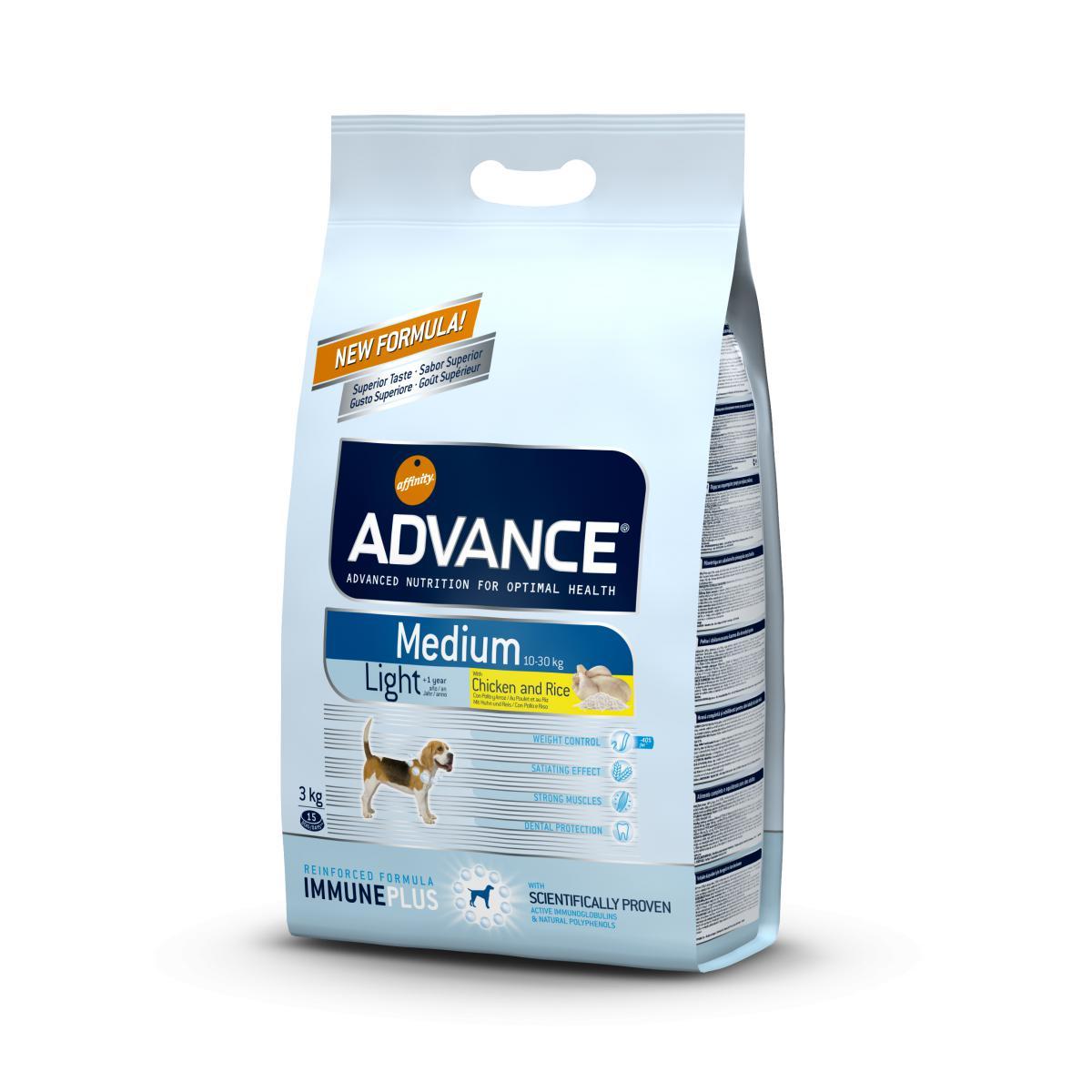 Affinity Advance Medium Light - Poulet et Riz
