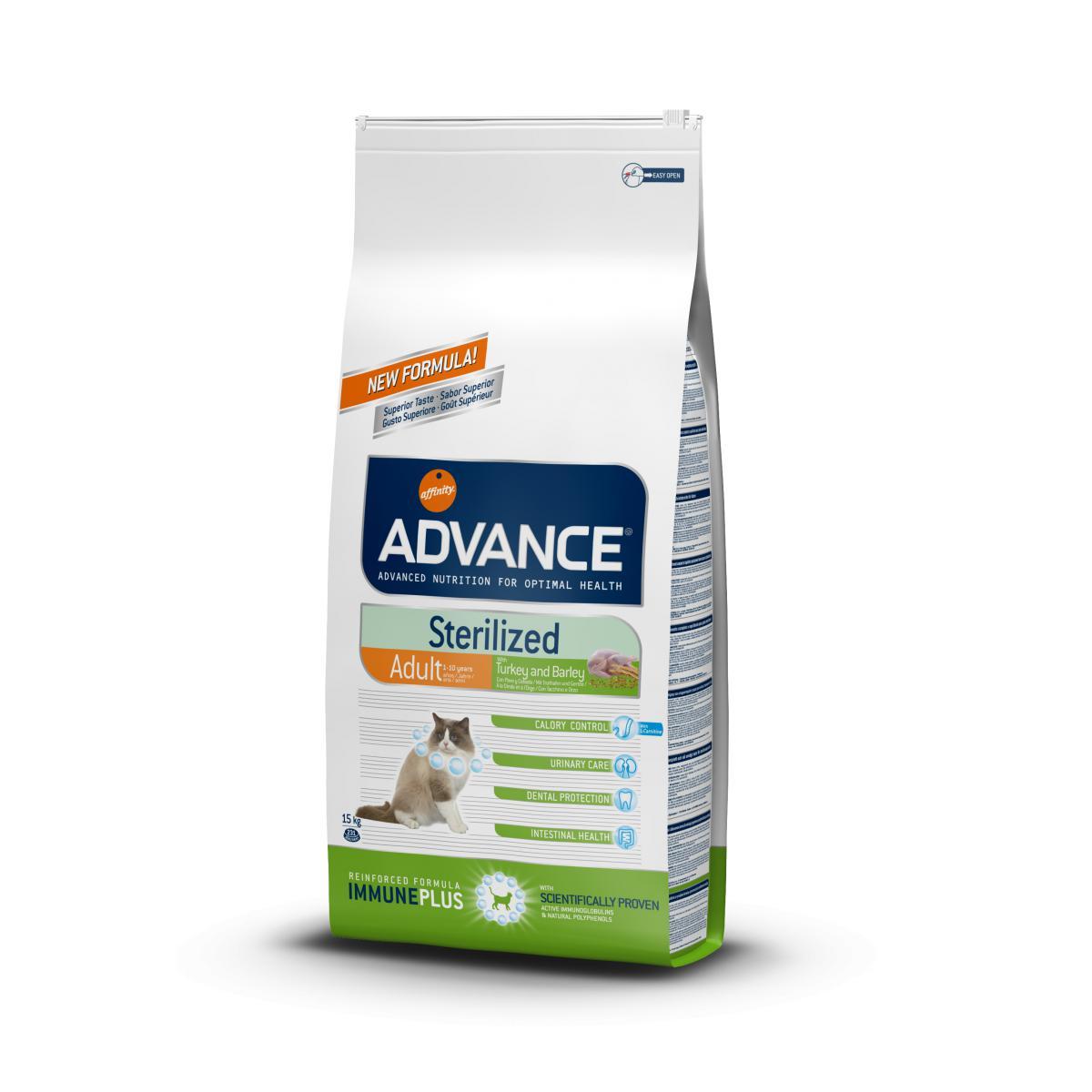 Affinity Advance Chat Stérilisé Sensitive - Dinde