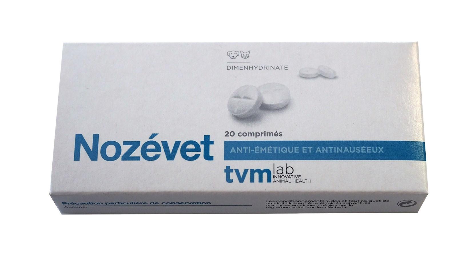 TVM - NOZEVET contre le mal des transports