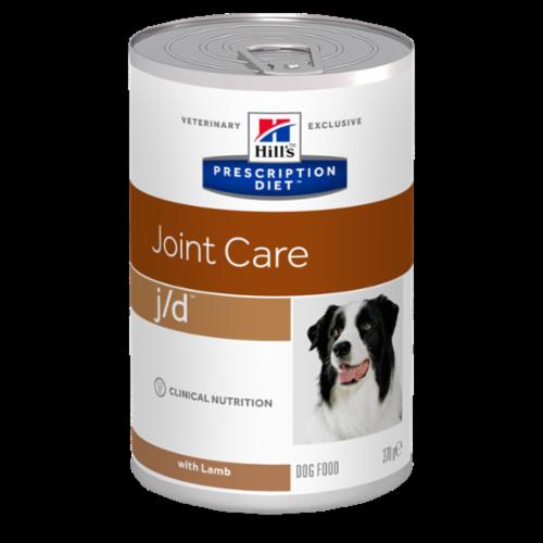 HILLS -canine-prescription-diet-jd-agneau-boite 370g noszanimos