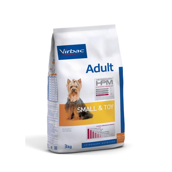 VIRBAC Veterinary - HPM DOG Adult Small & Toy