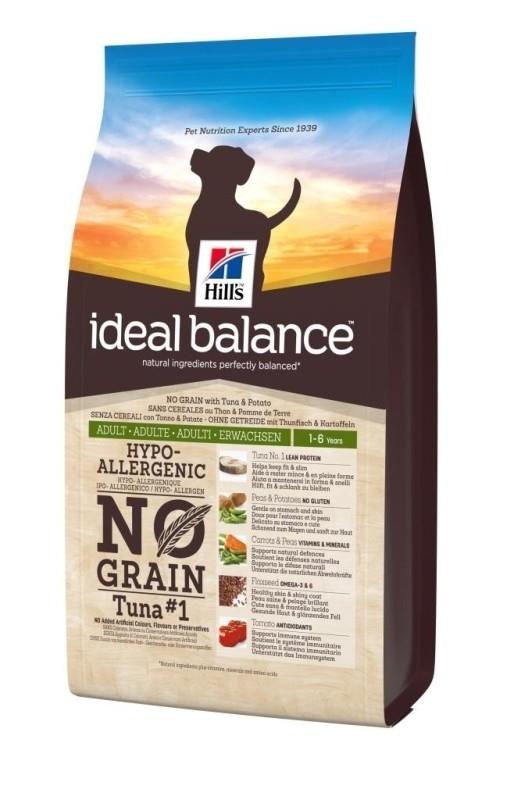 Hill's Ideal Balance - Adult No Grain - Thon et pommes de terre noszanimos