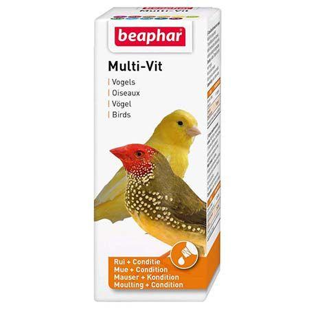 Beapher Multi-Vit, vitamines pour oiseaux noszanimos