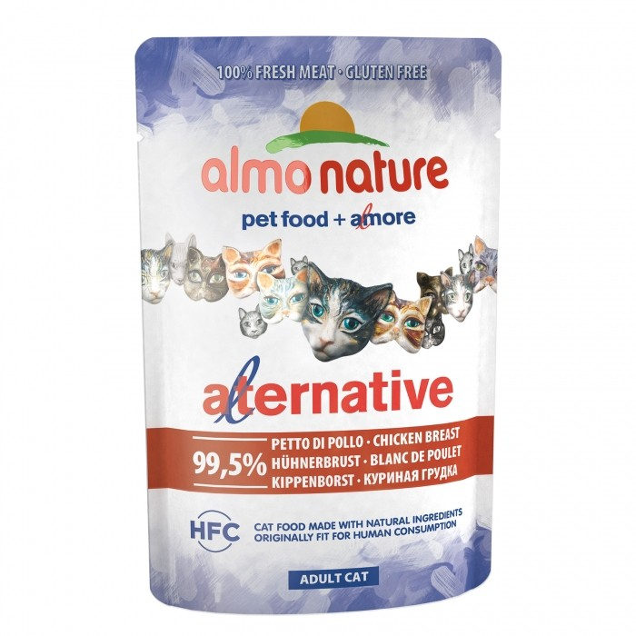 Almo Nature - HFC Alternative - Blanc de Poulet - Sachet de 55g noszanimos