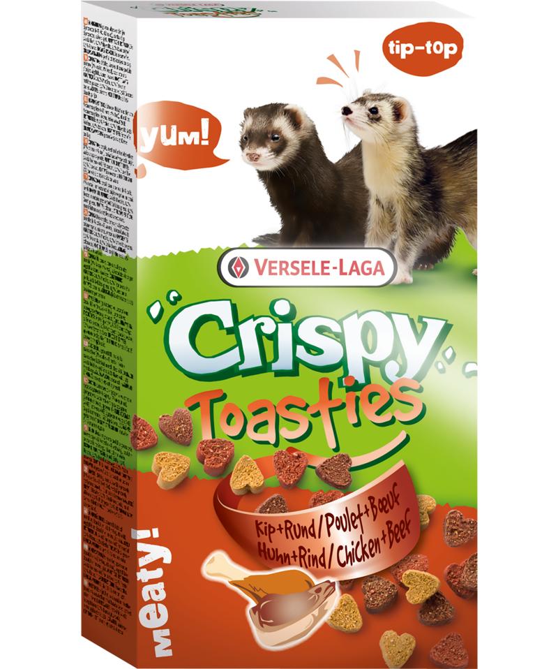 Versele Laga - Crispy Toasties Poulet & Boeuf noszanimos