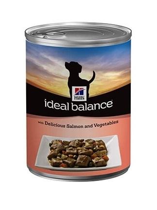 Hills Ideal Balance Canine Adult Saumon et Légumes 363gr noszanimos