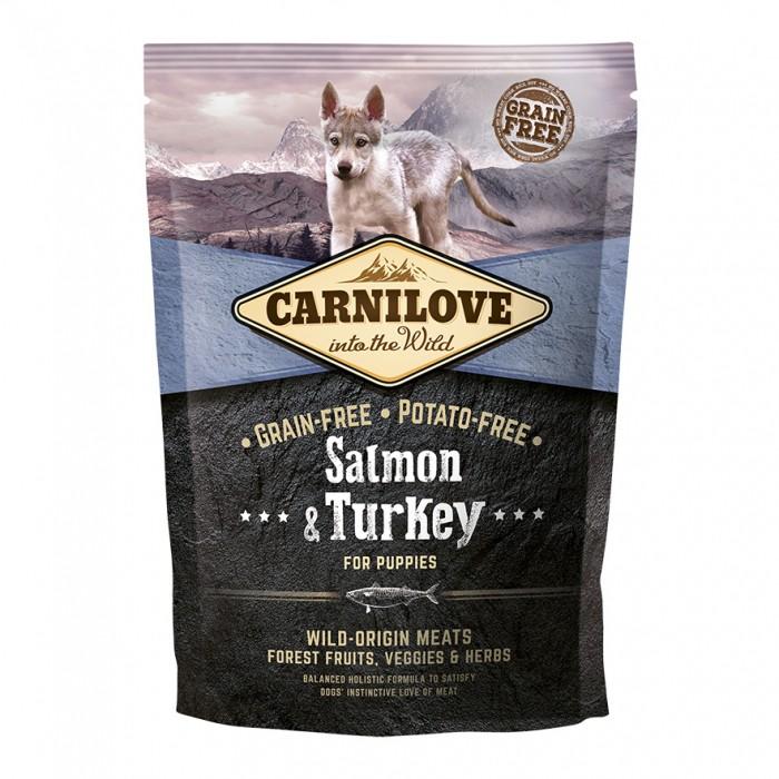 carnilove-puppy-saumon-dinde 1,5KG noszanimos