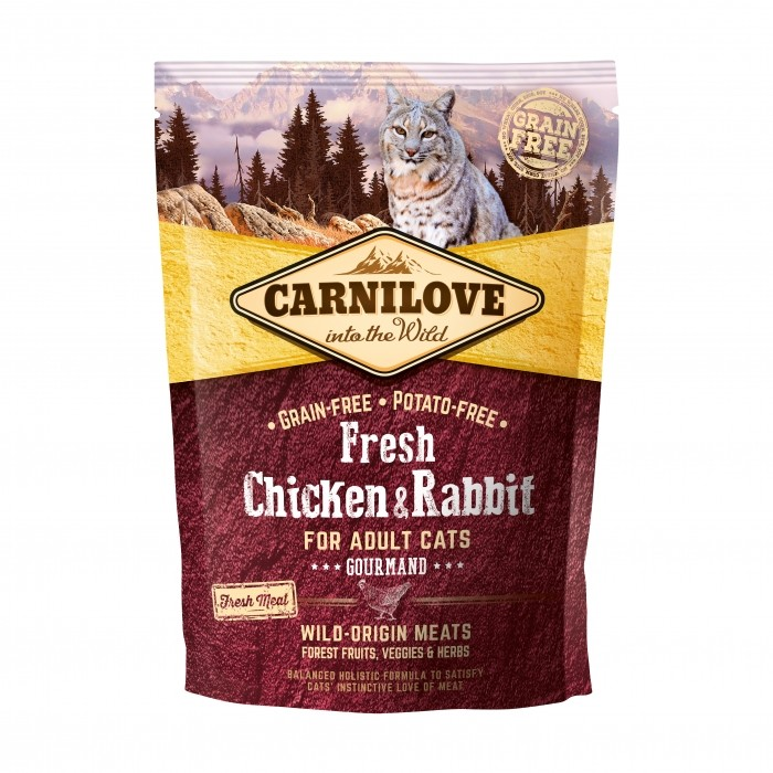 carnilove Fresh poulet & lapin noszanimos