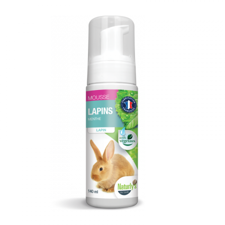 naturly's shampooings-mousse-lapins-140ml noszanimos