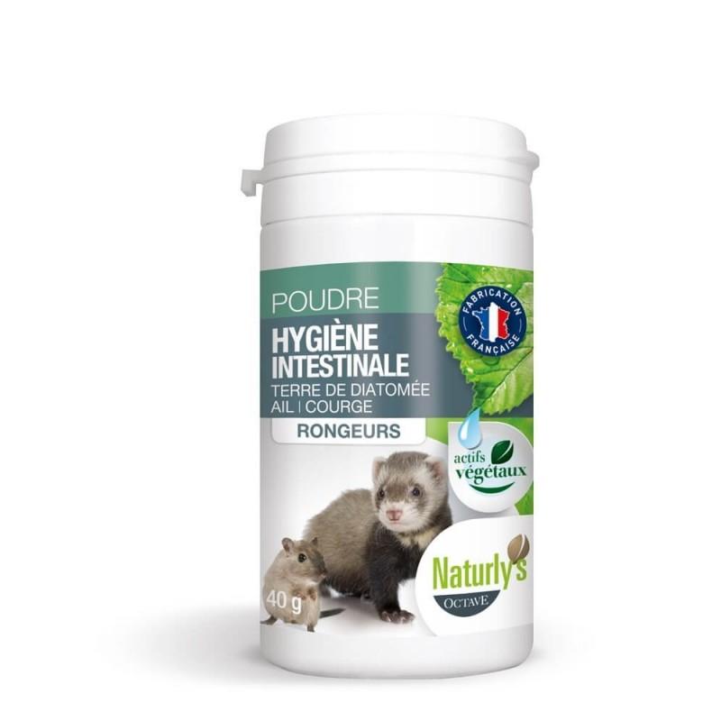 Naturly's Poudre hygiène intestinale Rongeurs noszanimos