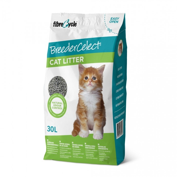 litiere-breedercelect- papier chat 30l noszanimos
