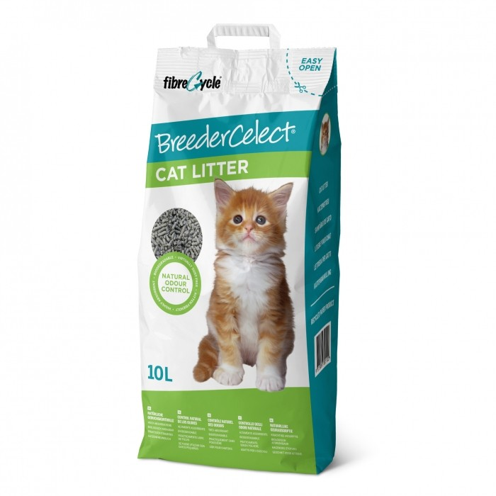 litiere-breedercelect- papier chat 10l noszanimos