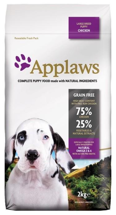 APPLAWS Puppy Sans Céréales pour Chiot - Large Breed Poulet noszanimos