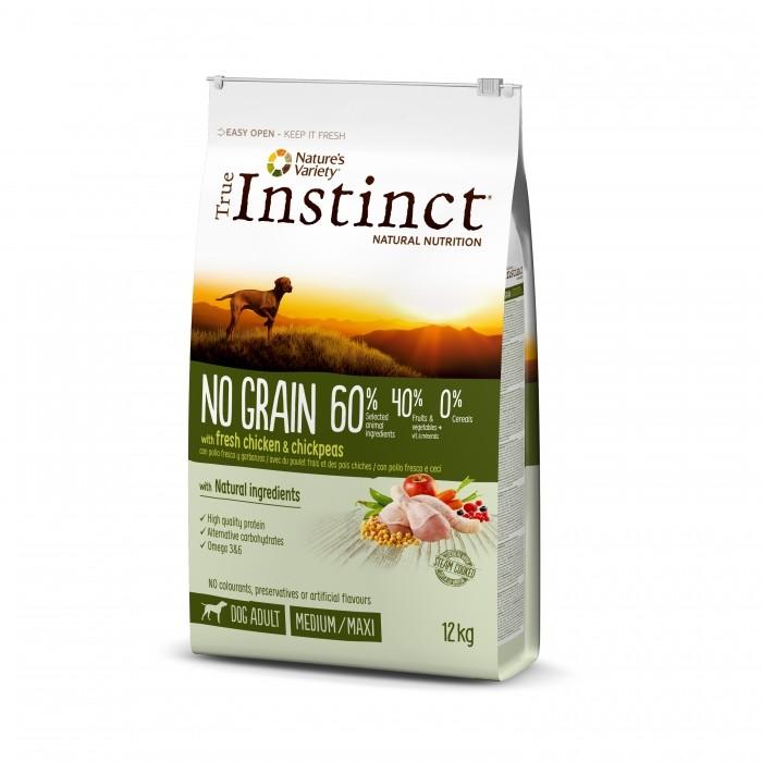 True Instinct No Grain - Medium Maxi Adult - poulet noszanimos
