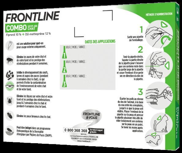 meria frontline-combo-chat 3 pipettes dos noszanimos