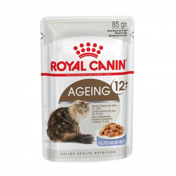 Royal Canin AGEING 12+ en gelée - Lot 12 x 85g