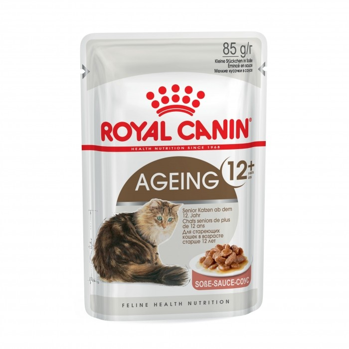 Royal Canin AGEING 12+ en sauce - Lot 12 x 85g