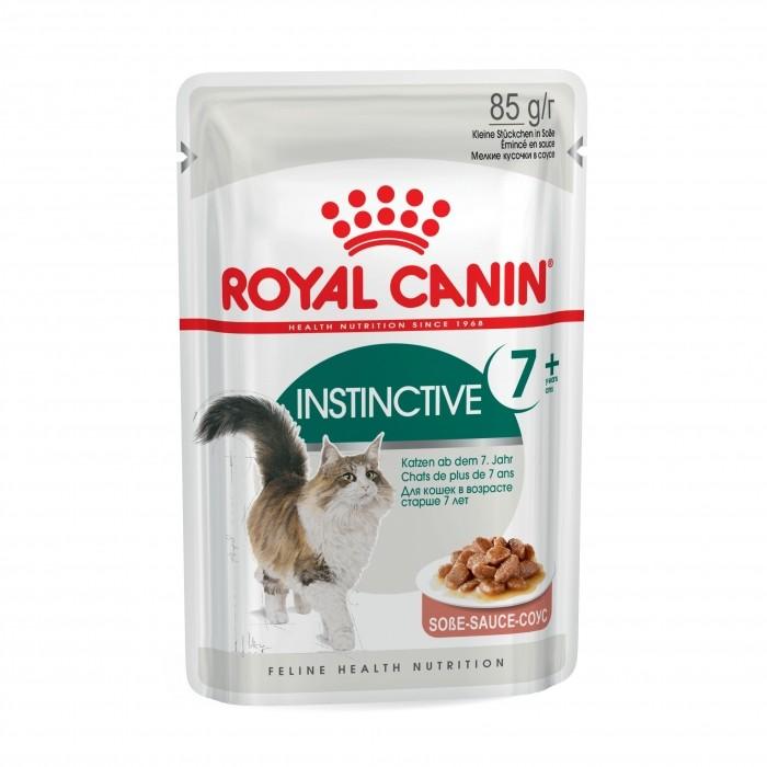 Royal Canin Instinctive 7+  en sauce - Lot 12 x 85g