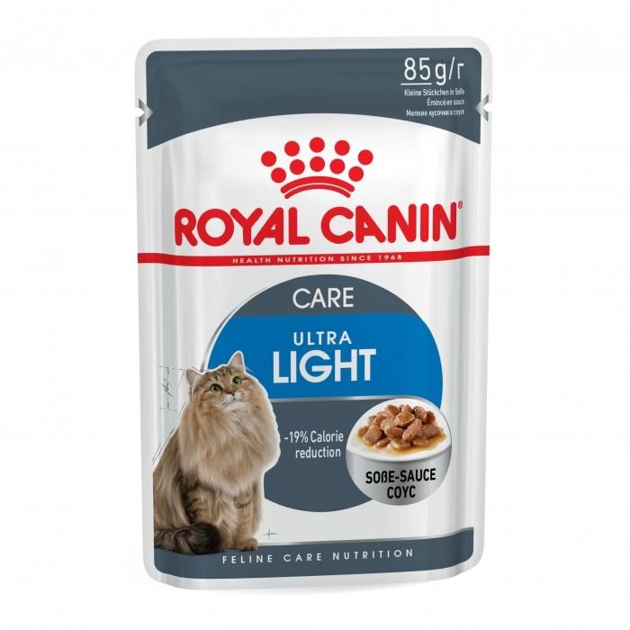 Royal Canin Ultra Light - Lot 12 x 85g