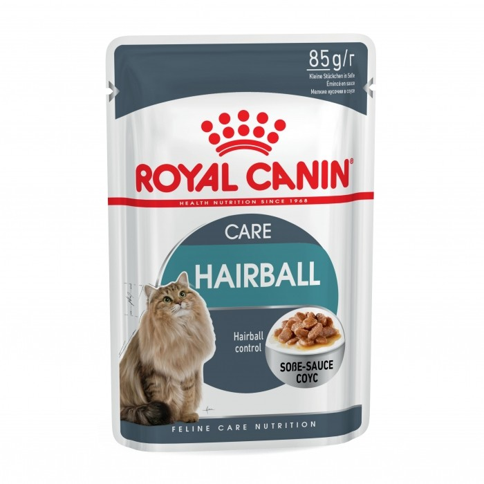 Royal Canin Hairball Care en sauce - Lot 12 x 85g