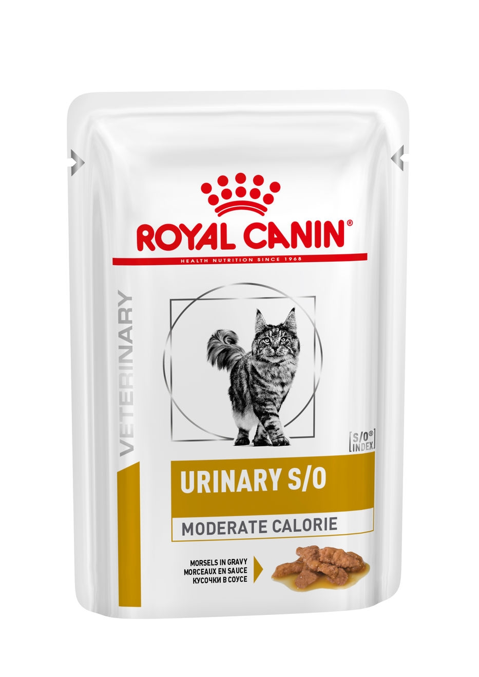 ROYAL CANIN Veterinary Diet - Urinary S/O Moderate Calorie - 12 x 85g