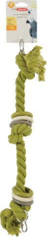 Zolux-Jouet corde aux coloris assortis pour perroquet