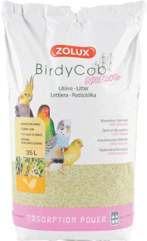 Zolux-Litiere Birdycob nature