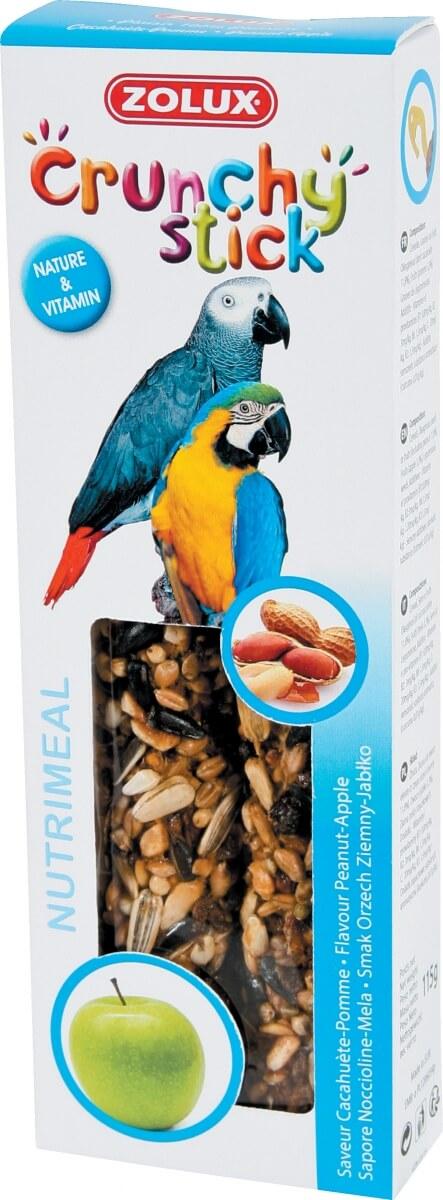 Zolux-Crunchy stick perroquet cacahuète et pomme