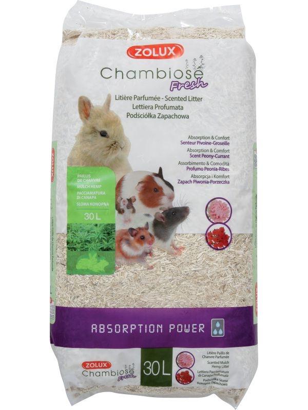 Zolux-Litière Chamboise Pivoine Groseille