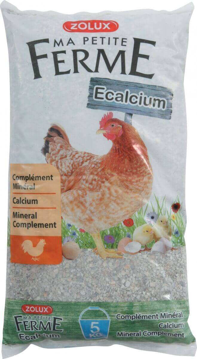 Zolux-Ecalcium aliment minéral pour poules