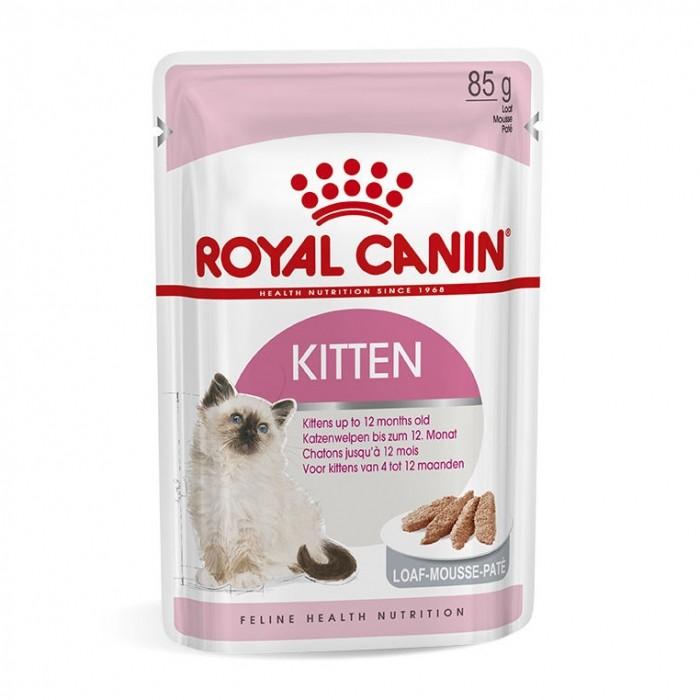 Royal Canin Kitten mousse - Lot 12 x 85g