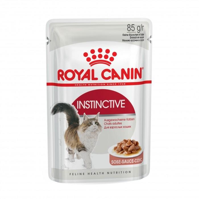 Royal Canin Instinctive en Sauce- Lot 12 x 85g