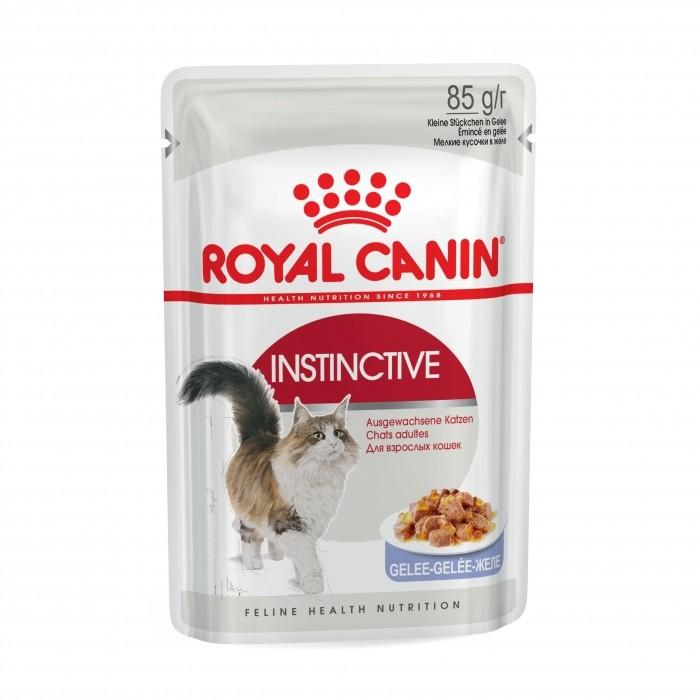 Royal Canin Instinctive en Gelée- Lot 12 x 85g